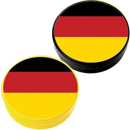 FL - Latinha Plástica 5x1 Lembrancinha Bandeira da Alemanha