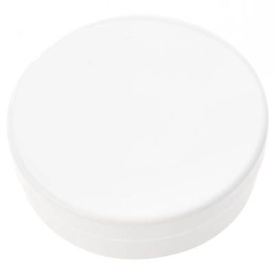 Latinha Plástica 5x1 Branco para Lembrancinha - 20 unidades