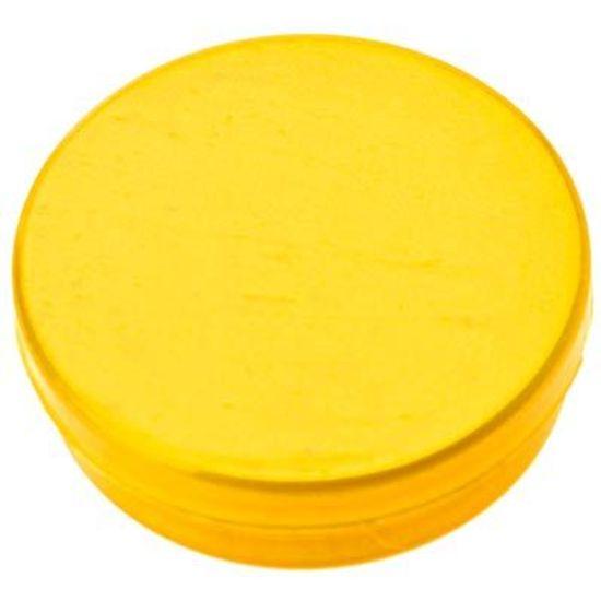 Latinha Plástica 5x1 Amarelo para Lembrancinha - 20 unidades