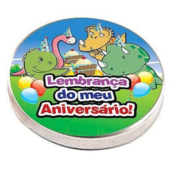 Latinha Metal 5x1 Lembrancinha Dinossauros Baby