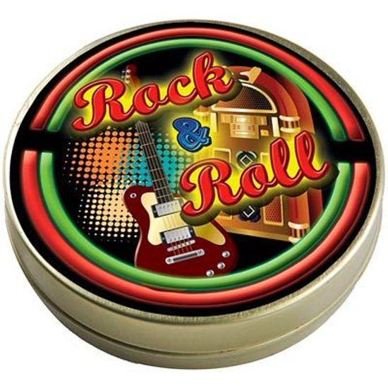 Latinha 7x2 Lembrancinha Rock and Roll