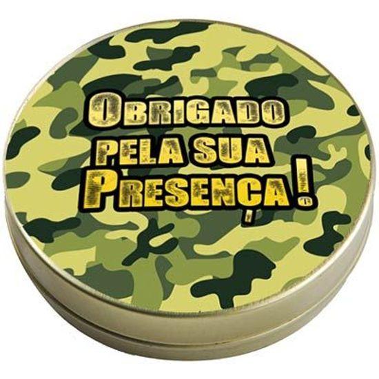 FL - Latinha 7x2 Lembrancinha Exército