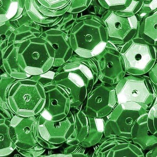 FL - Lantejoula Metalizada Verde Escuro (02 Gramas) - 12 Potinhos