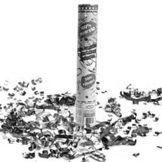 Lança Confete PRATA - Até 8 metros
