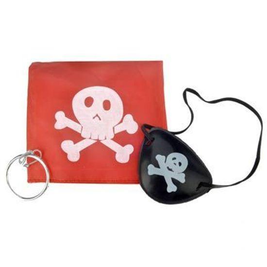 Kit SIMPLES para Fantasia Pirata