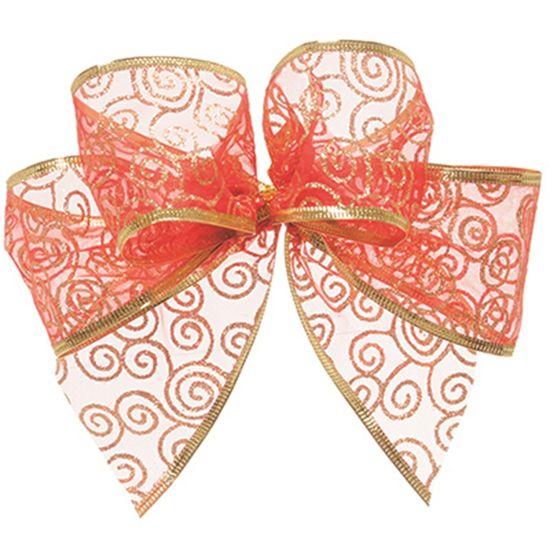 Laço Artesanal Vermelho (3x14,5cm) 03 unidades