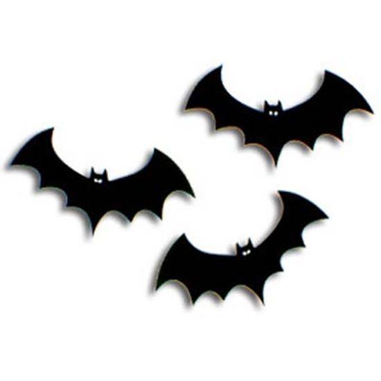 Festa O Estranho Mundo de Jack - Kit Painel em E.V.A. Morcegos Halloween - 12 unidades Kit Painel em E.V.A. Morcegos Halloween - 12 unidades