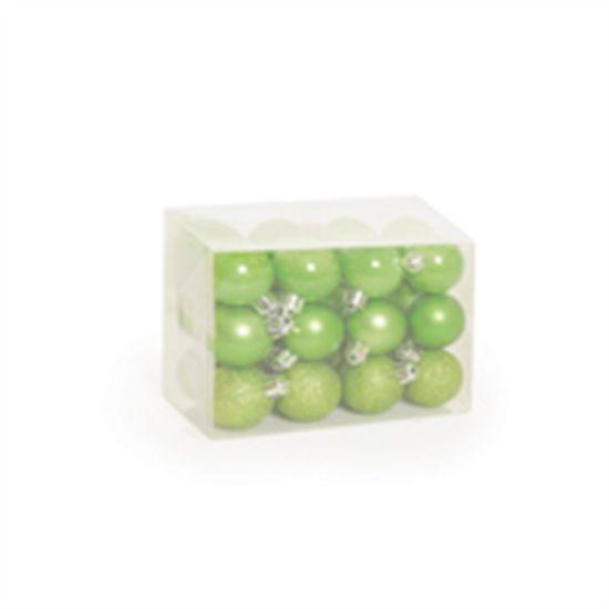 Bola Fosca Texturizada Vazada 8 cm (Bolas)  - 6  Jogos com 6 Peças