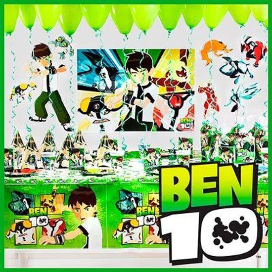 FL - Kit Festa Pronta Ben 10 Forever - 08 Pessoas
