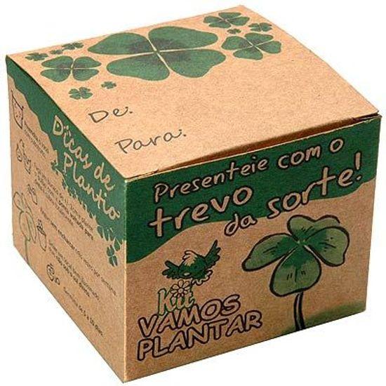 Kit Ecológico Vamos Plantar - Trevo da Sorte