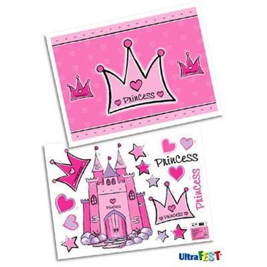 Festa Princesa - Kit Decorativo Cartonado Princess FL - Kit Decorativo Cartonado Princess