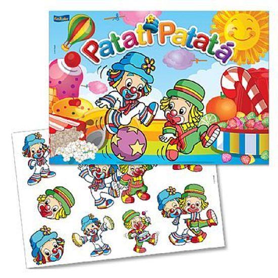 Festa Patati Patatá - Kit Decorativo Cartonado Patati Patatá Kit Decorativo Cartonado Patati Patatá