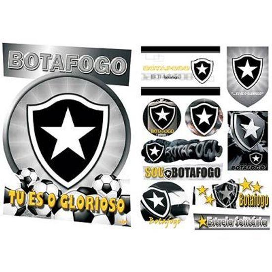 Festa Festa Botafogo - Kit Decorativo Cartonado Botafogo FL - Kit Decorativo Cartonado Botafogo