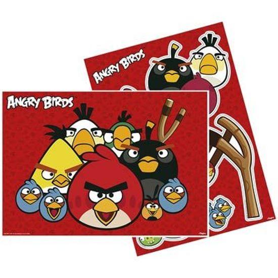 Kit Decorativo Cartonado Angry Birds Game