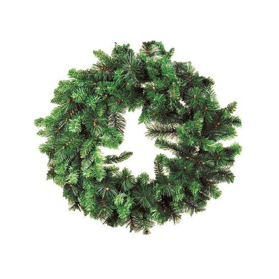 Guirlanda de Natal 180 Hastes Verde 80cm (Guirlanda de Natal Aramadas) - 1 Unidade