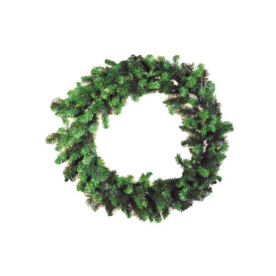 Guirlanda de Natal 280 Hastes Verde 120cm (Guirlanda de Natal Aramadas) - 1 Unidade