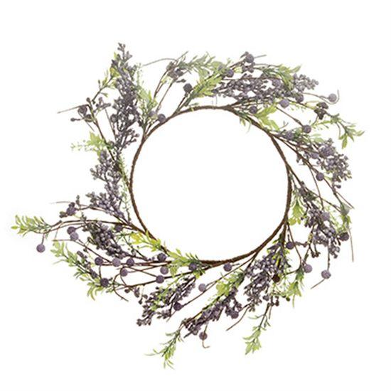 Cromus - Guirlanda Decorativa Lilás Tamanho Grande ( Fondant ) - 1 Unidade