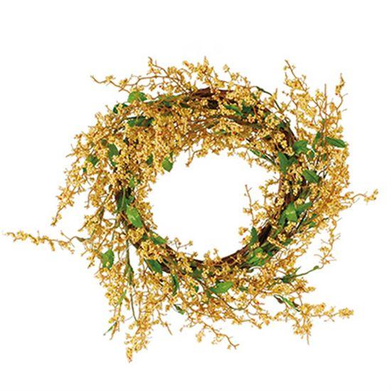 Cromus - Guirlanda Decorativa Ouro ( Fondant ) - 1 Unidade