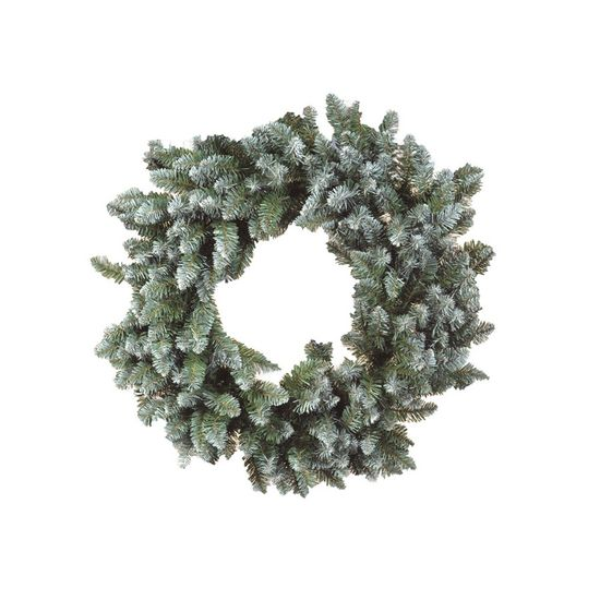 Guirlanda de Natal Nevada 240 Hastes Verde 80cm (Guirlanda de Natal Aramadas) - 1 Unidade