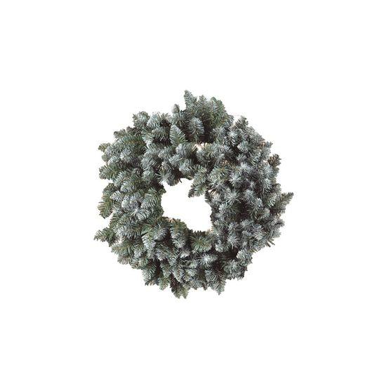 Guirlanda de Natal Nevada 200 Hastes Verde 60cm (Guirlanda de Natal Aramadas) - 1 Unidade