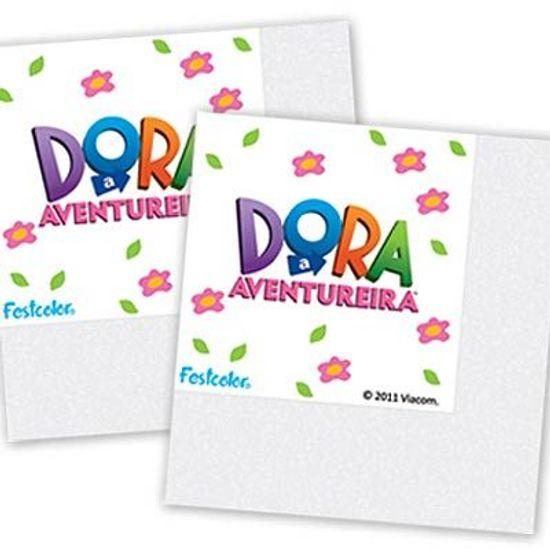 Festa Dora, a Aventureira - Guardanapos Dora a Aventureira - 16 unidades Guardanapos Dora a Aventureira - 16 unidades