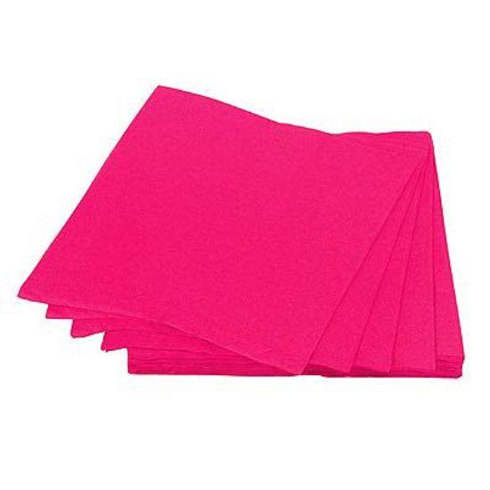 Guardanapos de Papel Seda 33cm Happy Line Pink - 20 unidades