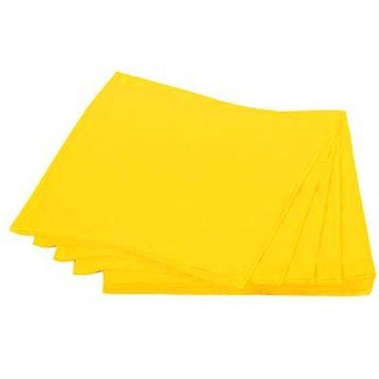 Guardanapos de Papel Seda 33cm Happy Line Amarelo - 20 unidades