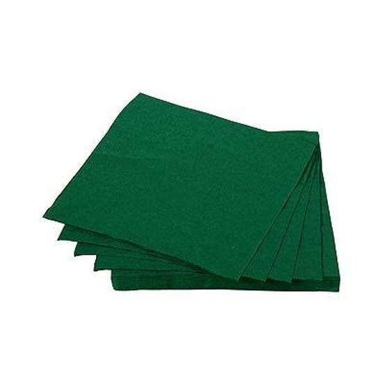 Guardanapos de Papel Seda 25cm Happy Line Verde - 20 Un