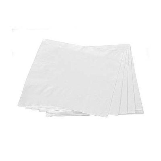 Guardanapos de Papel Seda 25cm Happy Line Branco - 20 Un