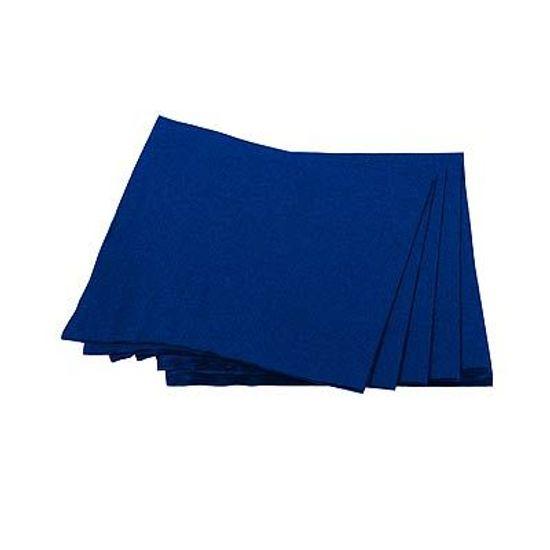 Guardanapos de Papel Seda 25cm Happy Line Azul Royal - 20 Un