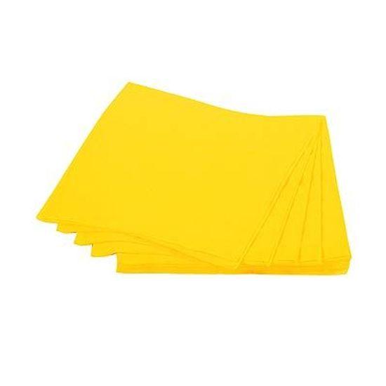 Guardanapos de Papel Seda 25cm Happy Line Amarelo - 20 unidades