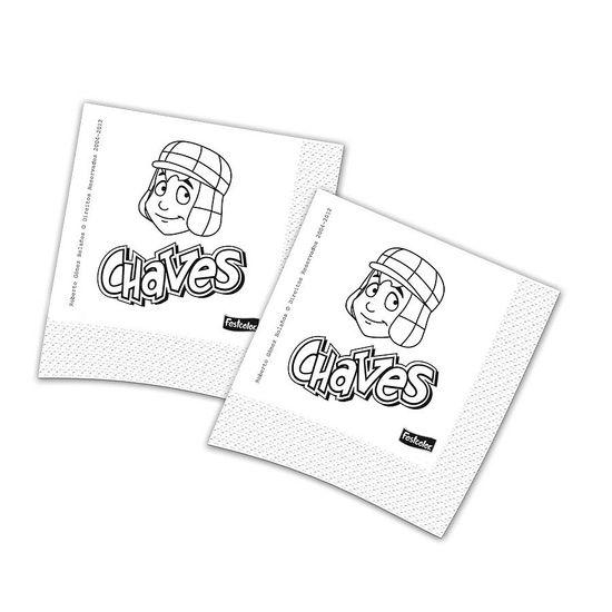 Guardanapos Chaves e sua Turma - 16 unidades