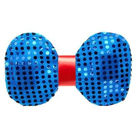 FL - Gravata Borboleta Paetê - Palhaço Grande