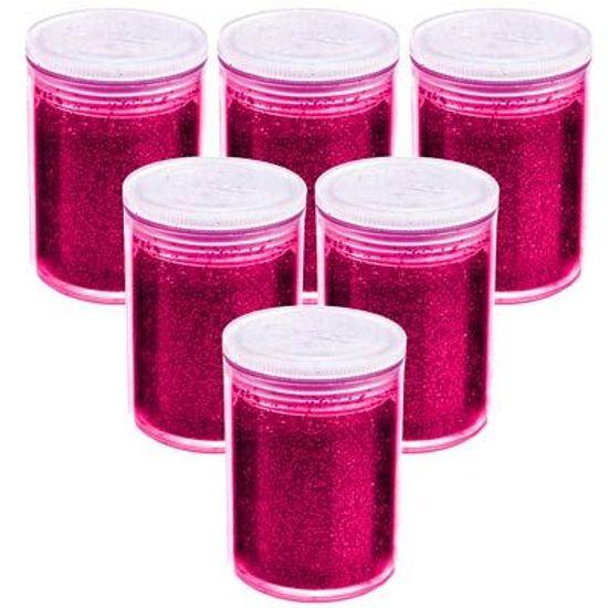 Glitter em Pó Metálico Pink 03 gramas - 12 Potinhos