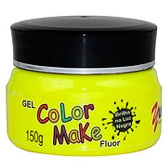 Gel para Cabelo Fluorescente Neon 150grs Amarelo