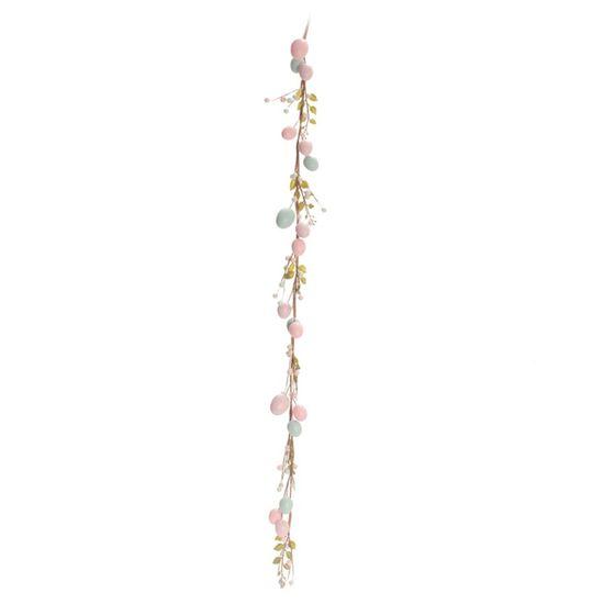 Cromus - Casadinho Galho Longo Ovos Lilás Rosa e Azul - 1 Pacote com 2 Unidade