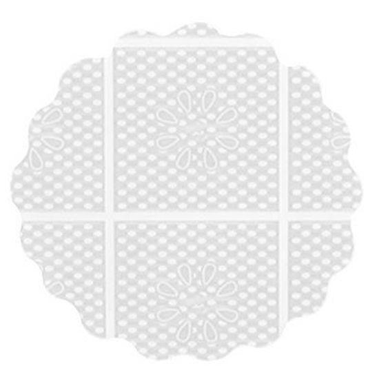 Fundo Rendado Tapetinho de Forminhas 7cm Branco - 100 Un