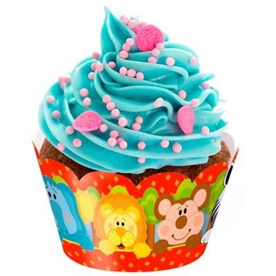 Floresta - Forminha para Mini Cupcake 12 Un