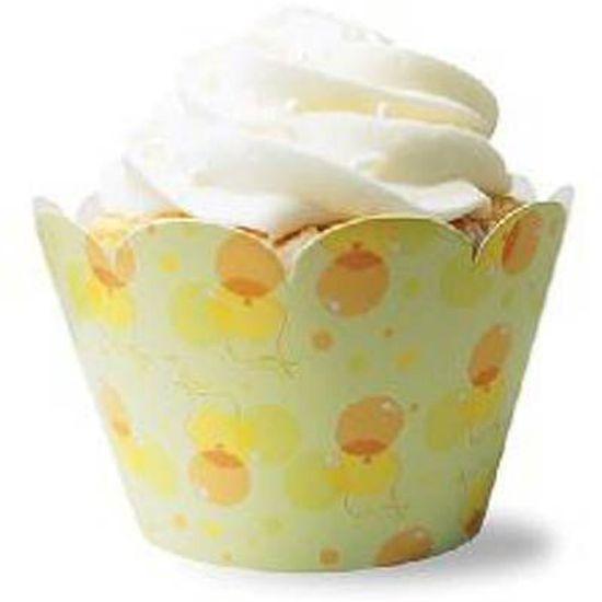FL - Forma para Cupcake MISSCAKE Infantil Balões - 12 unidades