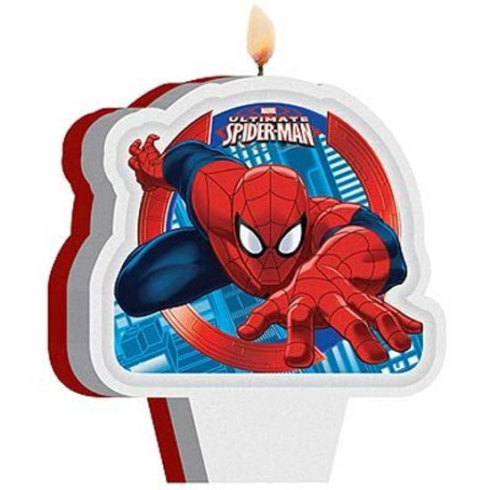 Festa Homem Aranha - Vela Plana Ultimate Spider Man Marvel Vela Plana Ultimate Spider Man Marvel