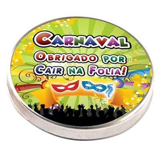 FL - Latinha Metal 5x1 Lembrancinha Carnaval