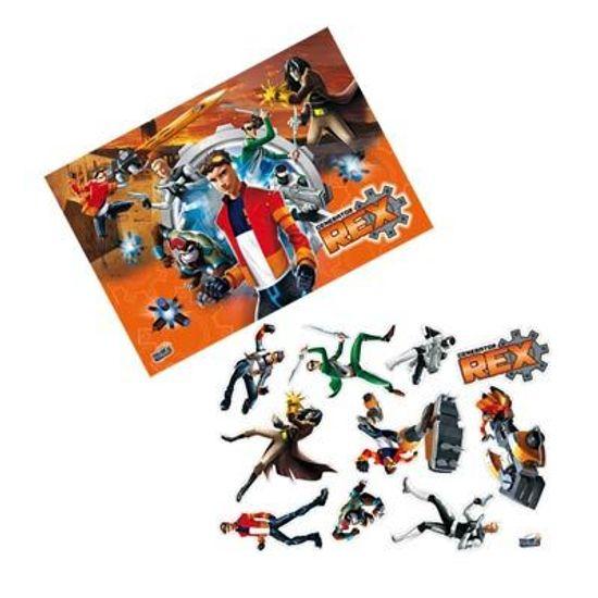 FL - Kit Decorativo Cartonado Mutante Rex