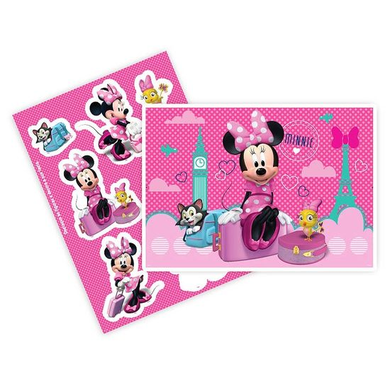 Festa Minnie Rosa - Kit Decorativo Cartonado Minnie Rosa Disney Kit Decorativo Cartonado Minnie Rosa Disney