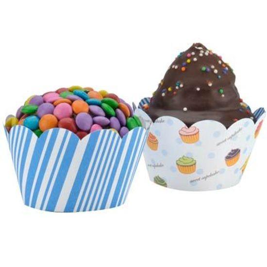 FL - Forma para Cupcake DUSTER 85001 Bolinhos - 12 unidades
