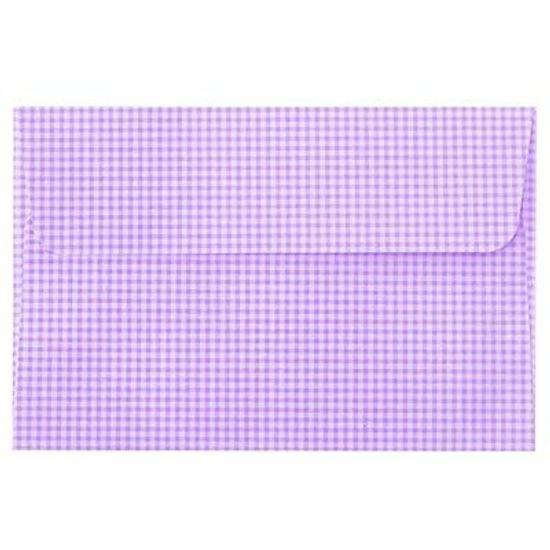 FL - Envelope Ultrafest Xadrez Lilás - 10 unidades