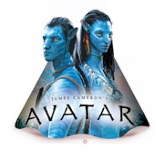 FL - Chapéu de Aniversário Avatar - 08 unidades