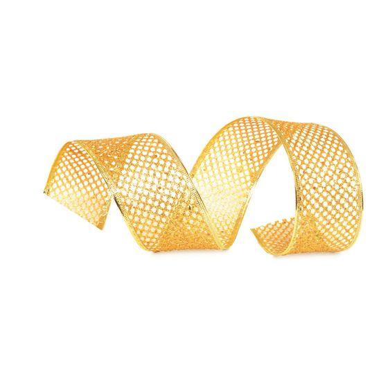Fita Tela Ouro 6,3 cm x 9,14 mts