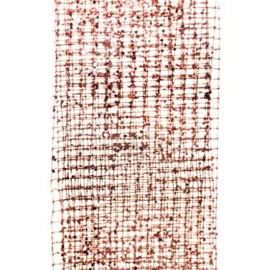 Tela Decorativa Rosa 130X310 cm (Fitas Natalinas) - 6 Unidades