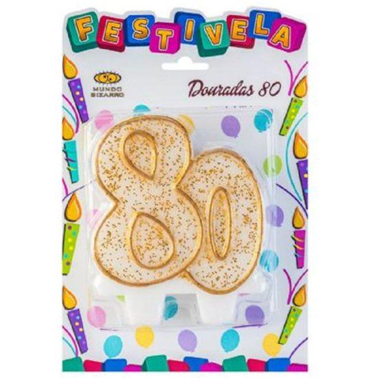 Festivela Números Dourados 80