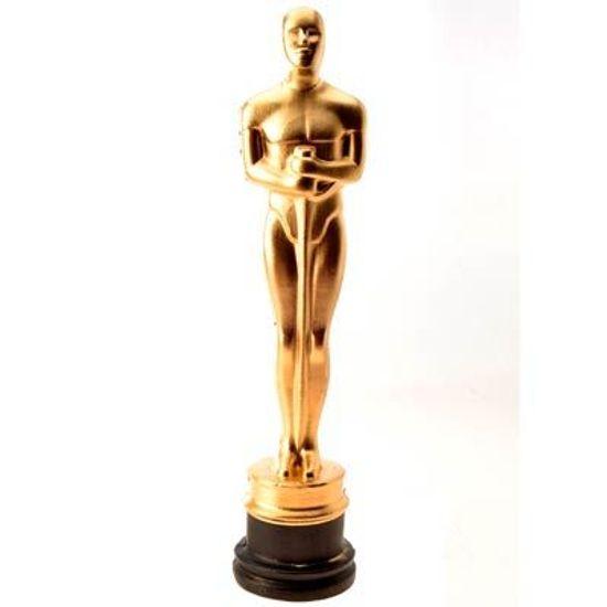 Estatueta Oscar em Plástico
